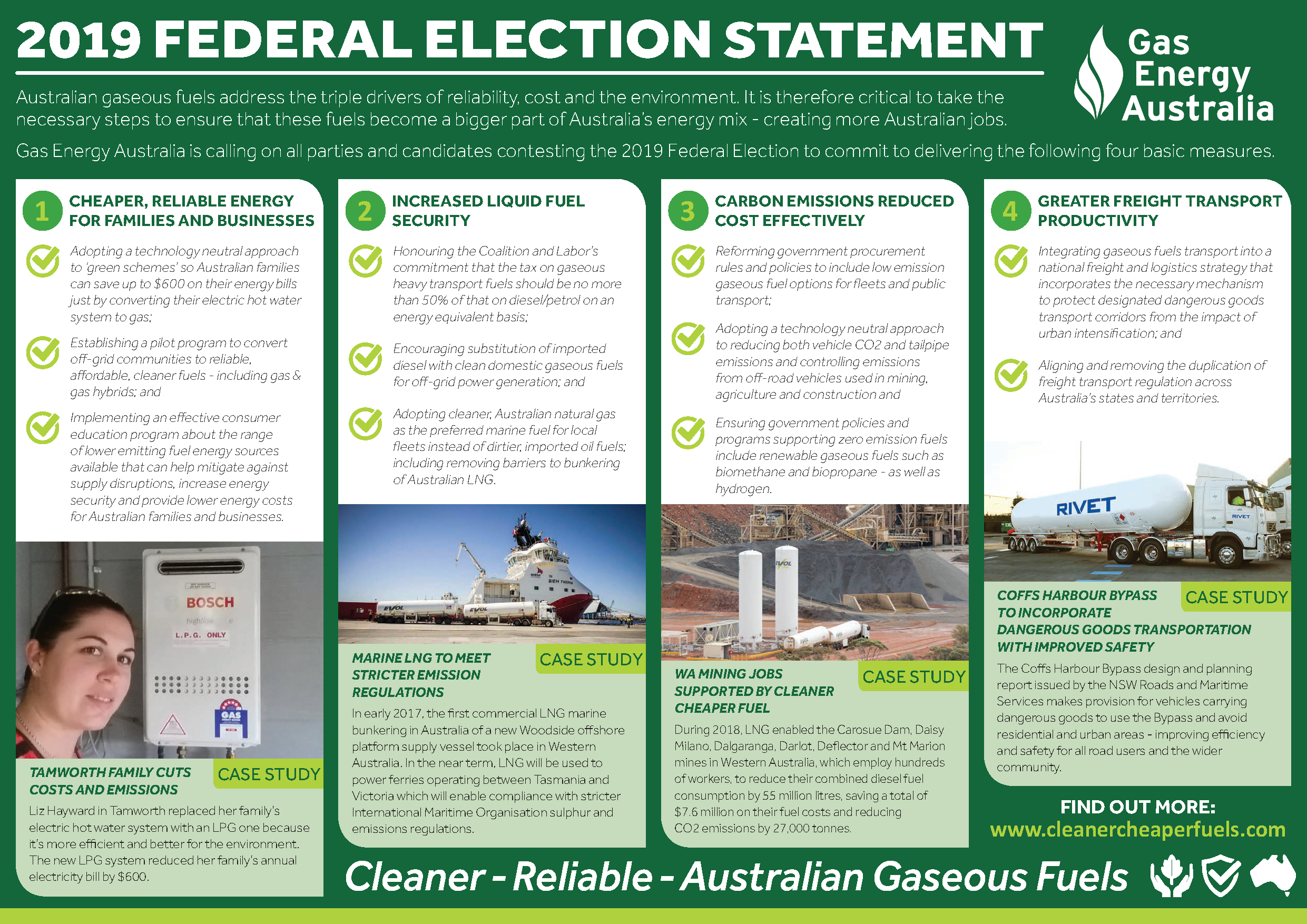 Gas Energy Australia (GEA) 2019 Federal Election Statement A3foldedA4 Internal Print FINAL_Page_2